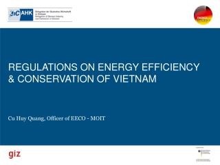 REGULATIONS ON ENERGY EFFICIENCY & CONSERVATION OF VIETNAM