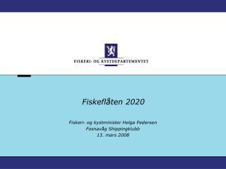 Fiskeflåten 2020