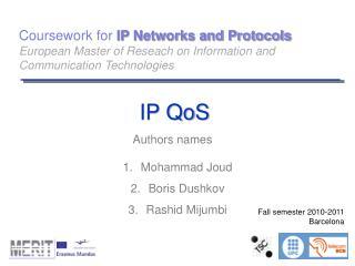 IP QoS