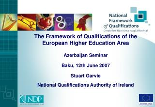 The Framework of Qualifications of the European Higher Education Area