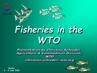 Fisheries in the WTO