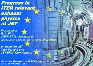 Progress in ITER relevant exhaust physics  at JET