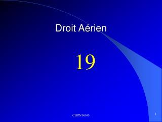 Droit A�rien