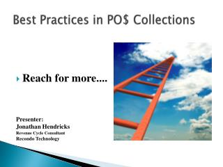 Best Practices in PO$ Collections
