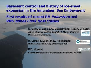 Basement control and history of ice-sheet expansion in the Amundsen Sea Embayment