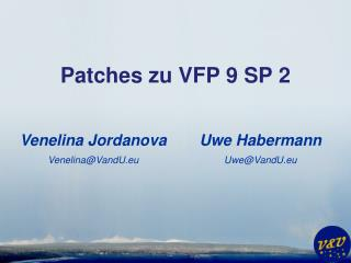 Patches zu VFP 9 SP 2