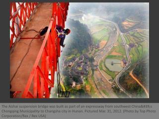 The bridge that suspends belief