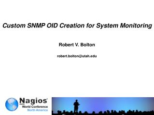Custom SNMP OID Creation for System Monitoring