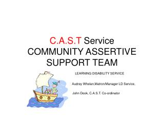 C.A.S.T  Service COMMUNITY ASSERTIVE SUPPORT TEAM