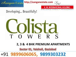 Colista Tower Vaishali ^^9899303232^^ Colista Tower Vaishali