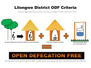 Lilongwe District ODF Criteria
