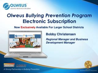 Olweus Bullying Prevention Program Electronic Subscription