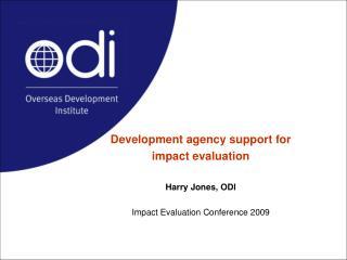 Recent ODI work