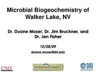 Dr. Duane Moser, Dr. Jim Bruckner, and  Dr. Jen Fisher 10/28/09