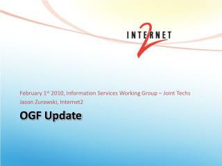 OGF Update