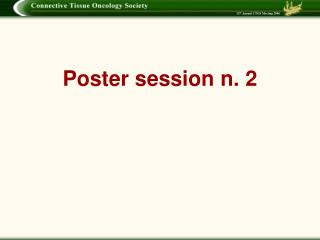Poster session n. 2