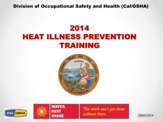 Division of Occupational Safety and Health (Cal/OSHA)