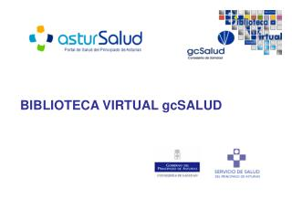 BIBLIOTECA VIRTUAL gcSALUD