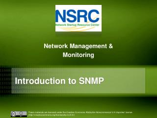 Introduction to SNMP