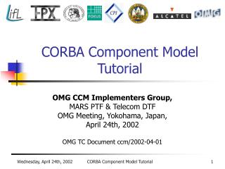 CORBA Component Model Tutorial