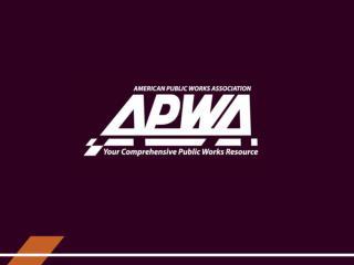 APWA Fleet