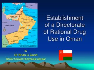 Establishment of a Directorate of Rational Drug Use in Oman