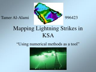 Mapping Lightning Strikes in KSA