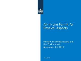 All-in-one Permit for Physical Asp ects