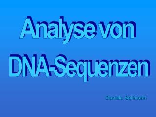 Analyse von