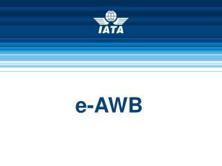 e-AWB