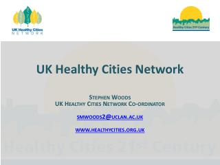 UK Healthy Cities Network