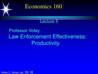Economics 160
