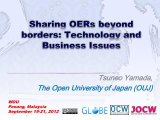 Sharing OERs beyond borders:  Technology  and Business Issues