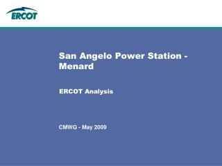 San Angelo Power Station - Menard