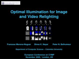 Optimal Illumination for Image and Video Relighting
