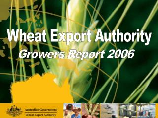 Wheat Export Authority