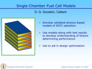 Single-Chamber Fuel Cell Models