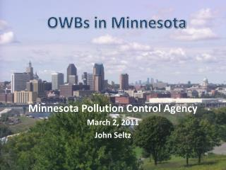 OWBs in Minnesota