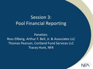 Pool Financial Reporting