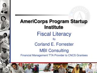 AmeriCorps Program Startup Institute