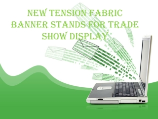 New Tension Fabric Banner Stands for Trade Show Display