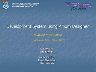 Development System using Altium Designer