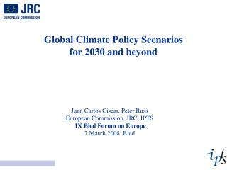 Global Climate Policy Scenarios  for 2030 and beyond