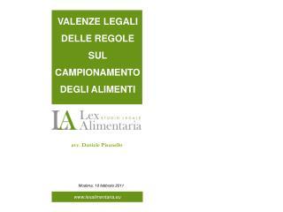avv. Daniele Pisanello