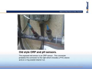 Old style ORP and pH sensors.