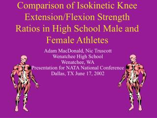 Comparison of Isokinetic Knee Extension