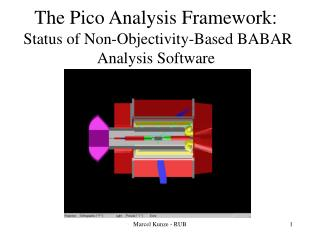 The Pico Analysis Framework:  Status of Non-Objectivity-Based BABAR Analysis Software