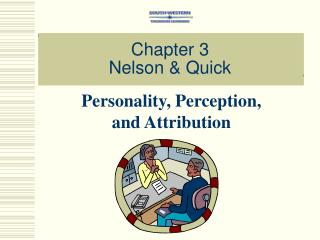 Chapter 3 Nelson  Quick