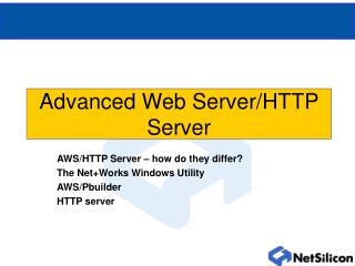 Advanced Web Server/HTTP Server