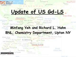 Update of US Gd-LS